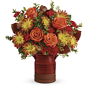 Heirloom Crock Bouquet Flowers