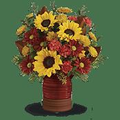 Sunshine Crock Bouquet Flowers