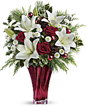 Teleflora's Wondrous Winter Bouquet Flowers