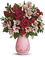 Teleflora's True Lovelies Bouquet Flowers