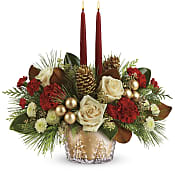 Winter Pines Centerpiece Flowers