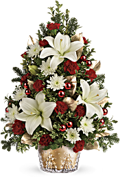 Teleflora's Golden Pines Tree Flowers