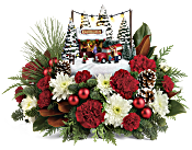 Thomas Kinkade's Family Tree Bouquet Flowers