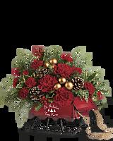Bouquet Traîneau d'antan de Teleflora