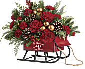 Vintage Sleigh Bouquet, picture
