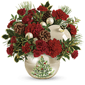 Classic Pearl Ornament Bouquet Flowers