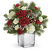 Teleflora's Woodland Winter Bouquet Flowers