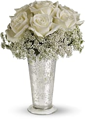 White Lace Centrepiece Flowers