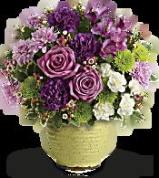 Teleflora's Spring Speckle Bouquet Flowers