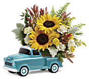Teleflora's Chevy Pickup Bouquet Flowers