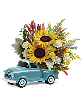 Teleflora's Chevy Pickup Bouquet, picture