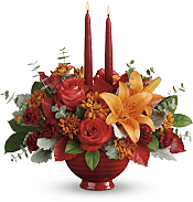 Autumn In Bloom Centerpiece Flowers