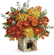 Wild Autumn Bouquet Flowers