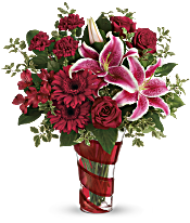 Teleflora's Swirling Desire Bouquet Flowers