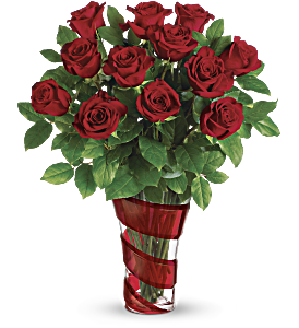 Teleflora's Dancing In Roses Bouquet, picture