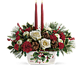 Halls Of Holly Centerpiece, picture