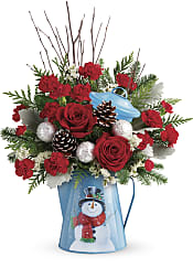 Snowy Daydreams Bouquet Flowers