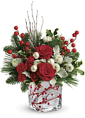 Winterberry Kisses Bouquet Flowers
