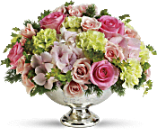Teleflora's Garden Rhapsody Centerpiece Flowers