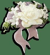 Fragrant Gardenia Nosegay Flowers