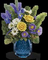 Teleflora�s Sapphire Garden Bouquet