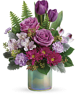 Teleflora�s Art Glass Garden Bouquet