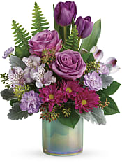 Art Glass Garden Bouquet Flowers