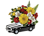 Teleflora's '67 Chevy Camaro Bouquet, picture