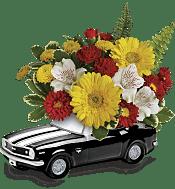 '67 Chevy Camaro Bouquet Flowers