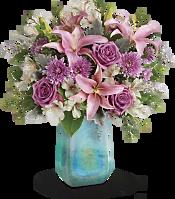 Art Glass Treasure Bouquet Flowers
