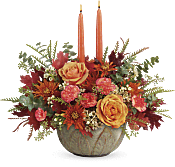 Artisanal Autumn Centerpiece Flowers