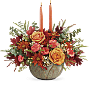Teleflora's Artisanal Autumn Centerpiece Flowers