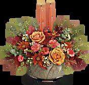 Teleflora's Artisanal Autumn Centrepiece Flowers