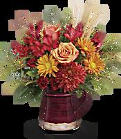 Teleflora's Fields Of Fall Bouquet Flowers