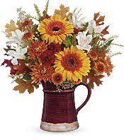 Blooming Fall Bouquet Flowers