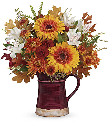 Teleflora's Blooming Fall Bouquet Flowers