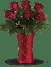 Crimson Luxury Bouquet Flowers