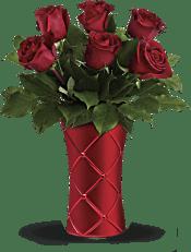 Teleflora's Crimson Luxury Bouquet Flowers