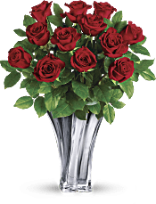 Teleflora's Flawless Romance Bouquet Flowers