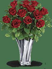 Teleflora's Flawless Romance Bouquet Flowers