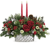 Merry Mercury Centerpiece Flowers