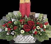 Teleflora's Merry Mercury Centerpiece Flowers