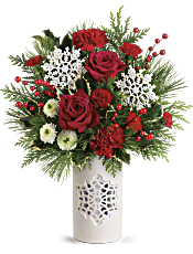 Teleflora's Flurry Of Elegance Bouquet Flowers