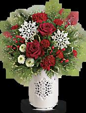Teleflora's Flurry Of Elegance Bouquet Flowers