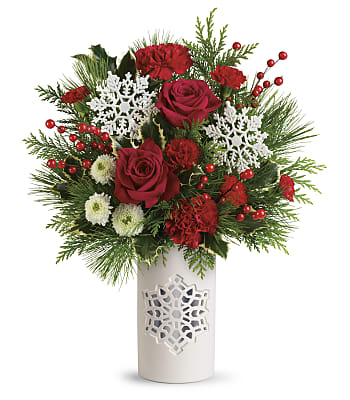 Flurry Of Elegance Bouquet Flowers