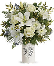 White Snowflake Bouquet Flowers
