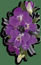 Purple Promise Wristlet Flowers