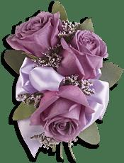 Soft Lavender Corsage Flowers