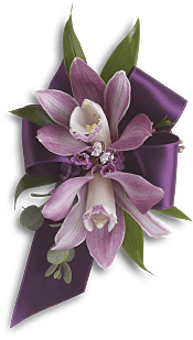 Exquisite Orchid Wristlet Flowers