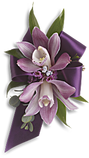 Exquisite Orchid Wristlet Flowers